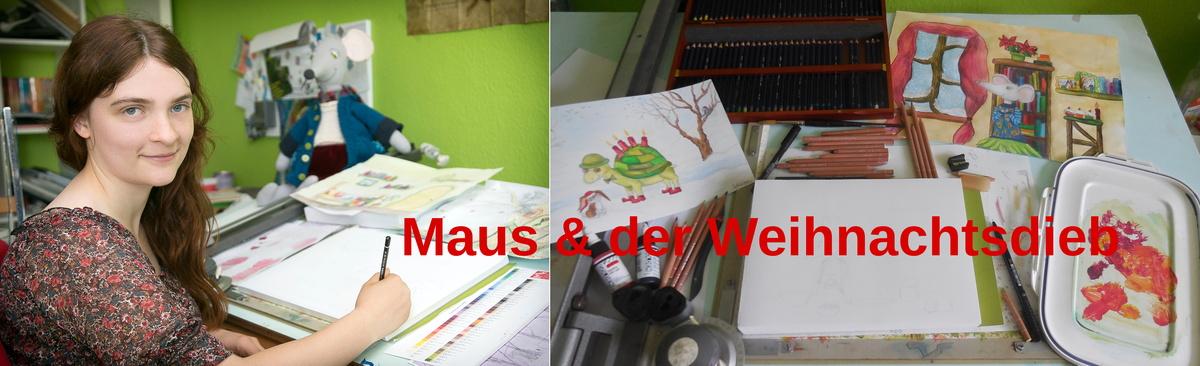 """""""Maus & der Weihnachtsdieb"""" Ein Buch für Kleine & Große :-)"""