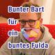 Bunter Bart für Jochen!