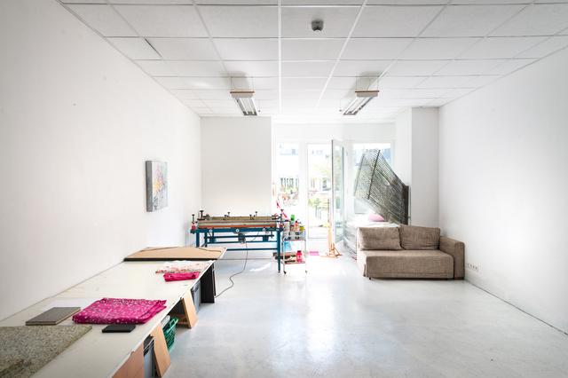 Atelier und Siebdruckwerkstatt von Kerstin Vornmoor