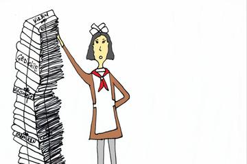 """E-Buch: """"Die kleine Russin und die Papierschlacht"""""""