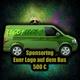 Klassisches Sponsoring: dein Logo auf unserem Bus
