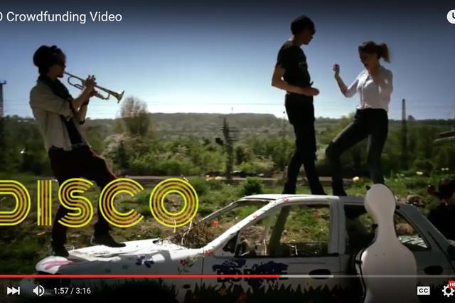 DISCO - Abtanzen auf neue klassische Musik