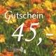 Gutschein 45