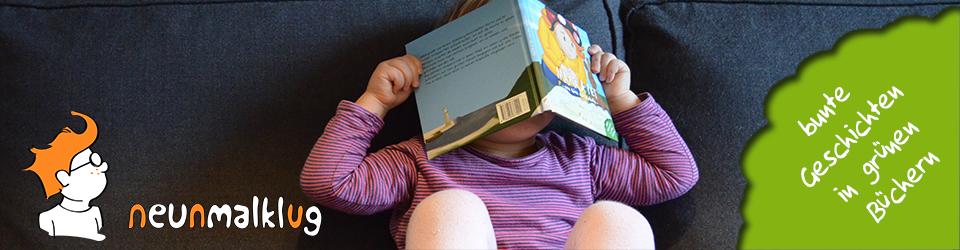 neunmalklug verlag – bunte Geschichten in grünen Büchern