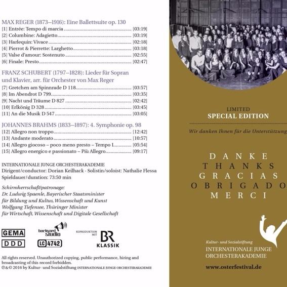 Limitierte Sonderedition der CD 2016, handsigniert