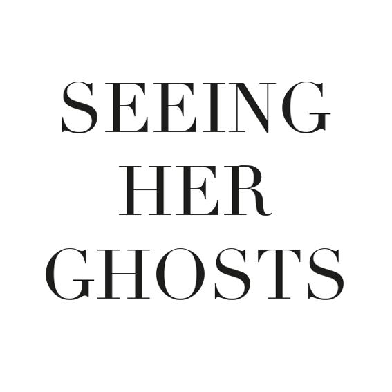"""PreOrder """"Seeing Her Ghosts"""" - Das Buch"""