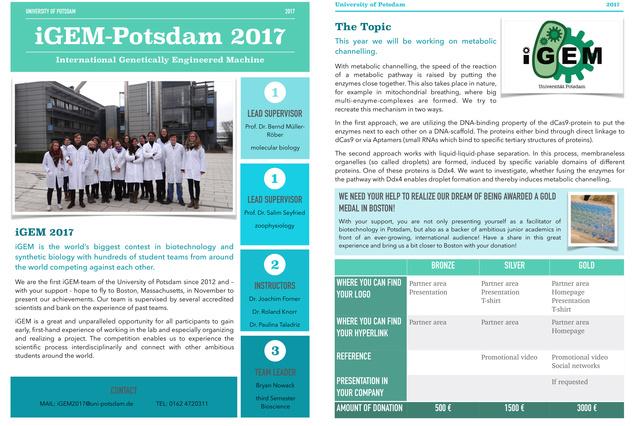 iGEM 2017 - Universität Potsdam