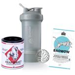 Kraftpaket mit BAOWOW Hydration und BlenderBottle ProStak®: