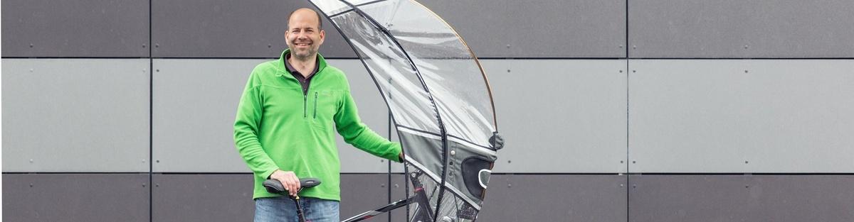 softtop bikeSHELL - Ein Regenschutz für Fahrräder und eBikes.