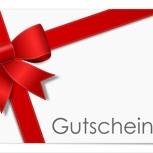 € 40 Gutschein für Online -Shop