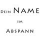 """Dein Name im Abspann des Films """"Gegen den Strom"""""""