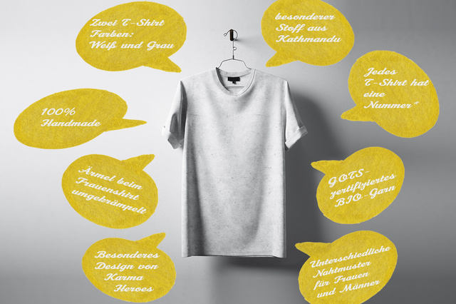 Dharma : Doo & BIA - a better tomorrow t-shirt