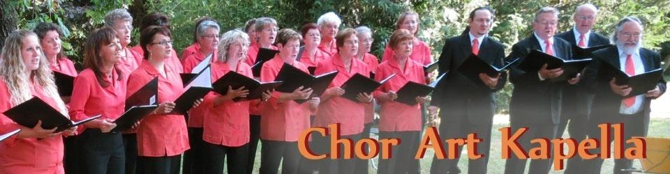 Jubiläums-CD Chor Art Kapella