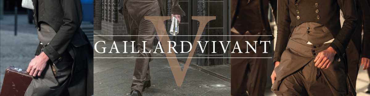 GAILLARD VIVANT - Men's Garments Berlin