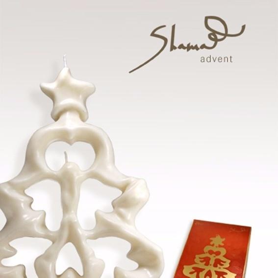 "Kerze ""Advent"" Maha Alusi's Kunst Zeit sichtbar zu machen"