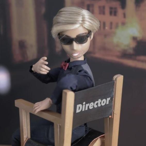 Associate Producer Barbie - 1 Associate Producer Credit + 1 Production journal