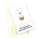 Post vom Osterhasen mit Wachssiegel und Urkunde