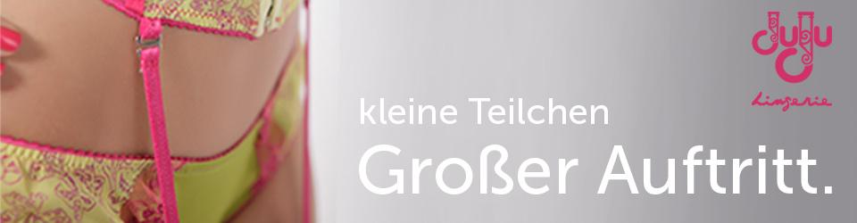 Macht deutsche Schlafzimmer schöner - mit exklusiven Dessous