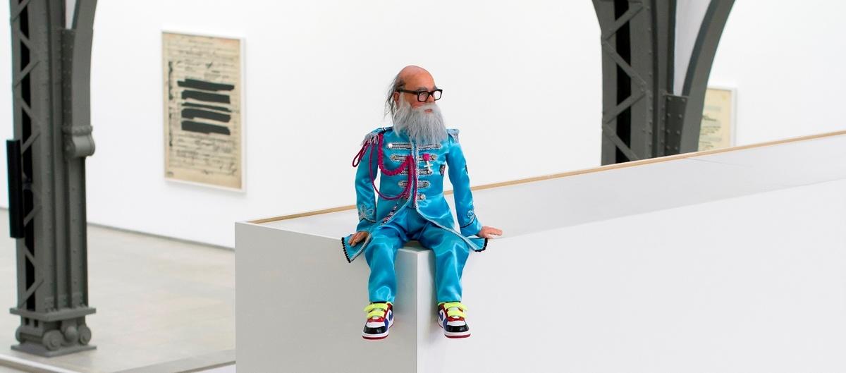 Ankauf Jonathan Monk Skulptur für die Nationalgalerie Berlin