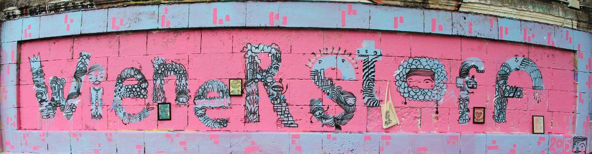 Wiener Stoff - Street Art Design Label