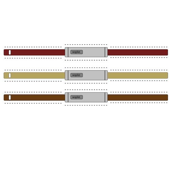 3x Bastelbögen von waylet