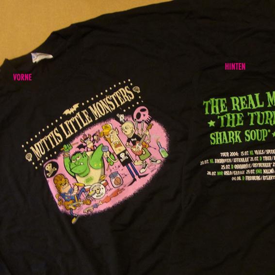 Muttis Little Monsters - T-shirt für extra große Menschen