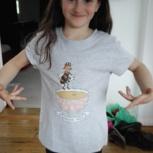 Die Honigbiene als T-Shirt