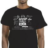 Kipepeo Goes Kenya Logo Shirt Männer