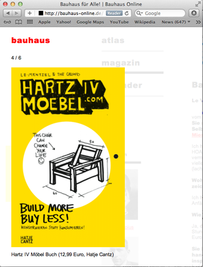 Wow Erster Auftritt Bauhaus Hartz Iv Möbel Buch