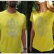 "Early Bird Angebot ""Ganesha"" T-Shirt gelb"