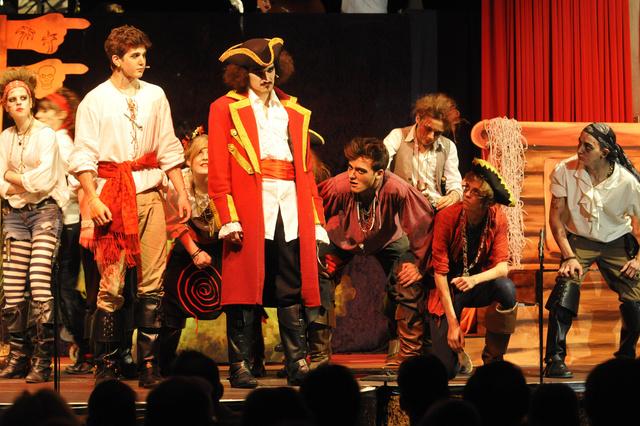 Schulmusical auf großer Bühne