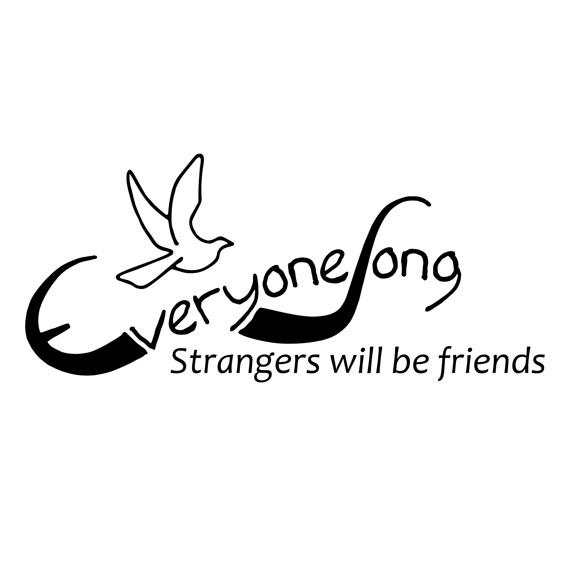 """Postkarte """"aus Fremden werden Freunde"""""""