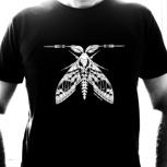 Shirt 'White Moth'