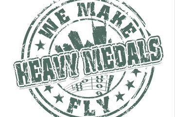 We Make Heavy Medals Fly
