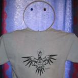 T-Shirt mit exklusivem Raben-Motiv