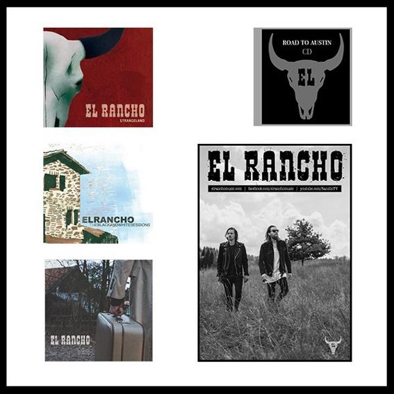 Signierte El Rancho Diskographie + Poster