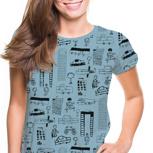 "Kipepeo Frauen Shirt ""Nairobi City"""