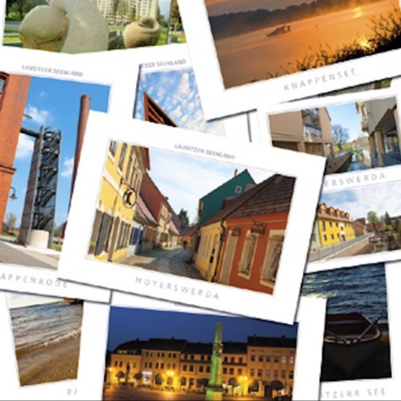 Dankes-Postkarte aus Heidelberg