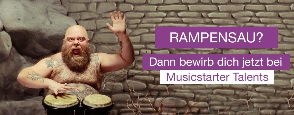 Bild zur Musicstarter Talents-Aktion