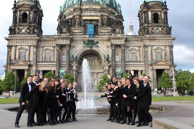 Der 'HXOS-Chor Berlin beim Harmonie-Festival 2017