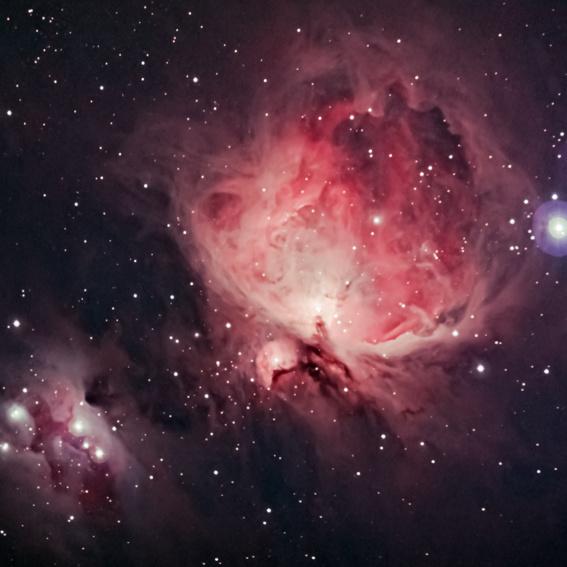 Gasnebel - mehrfache Himmelsbeobachtung + Objekt-Fotos + Eintritt