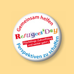 """Button """"Refugees' Day"""""""