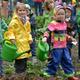 5 Kinder für 1 Jahr in der GemüseAckerdemie