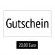 20,00€ Gutschein Onlineshop