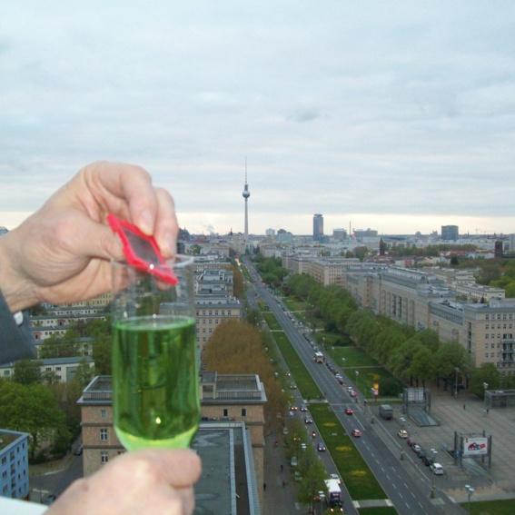 Clicc-Party Ticket + Clicc Solarmodul limitierte Himmel-Edition | Über den Dächern Berlins