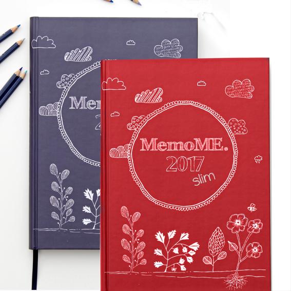 MemoME. Planer A4 classic + A4 slim