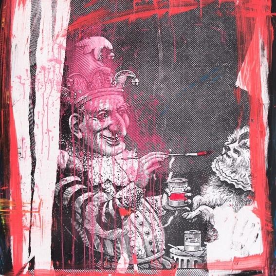 """Anton Unai's Artpiece """"The Juggler"""""""