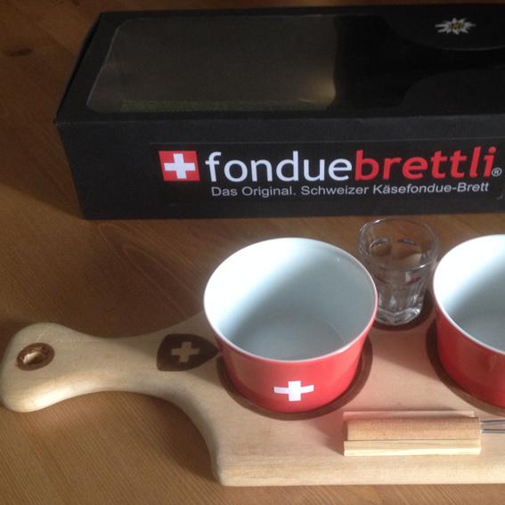 "Fonduebrettli-Set ""limited edition"""