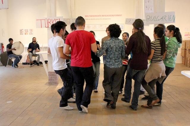Von Mond zu Mund - Tanzprojekt im Museum für Kommunikation