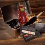 Geschenkbox aus Blech von Schobel Höchstgenuss